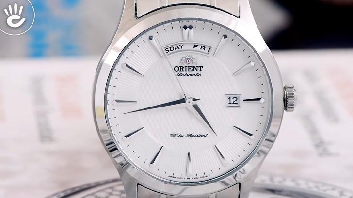 Đồng hồ Orient FEV0V001WH dây kim loại, lên cót tự động - Ảnh 3