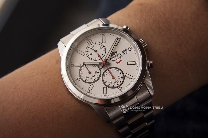 Đồng hồ nam Orient FKU00003W0 giá rẻ, thay pin miễn phí - Ảnh 2