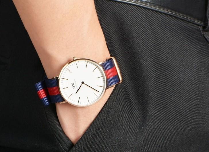 Đồng hồ Daniel Wellington DW00100001 dây vải trẻ trung - Ảnh 6
