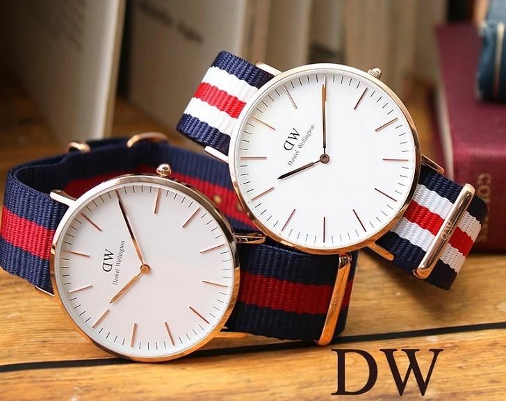 Đồng hồ Daniel Wellington DW00100001 dây vải trẻ trung - Ảnh 5