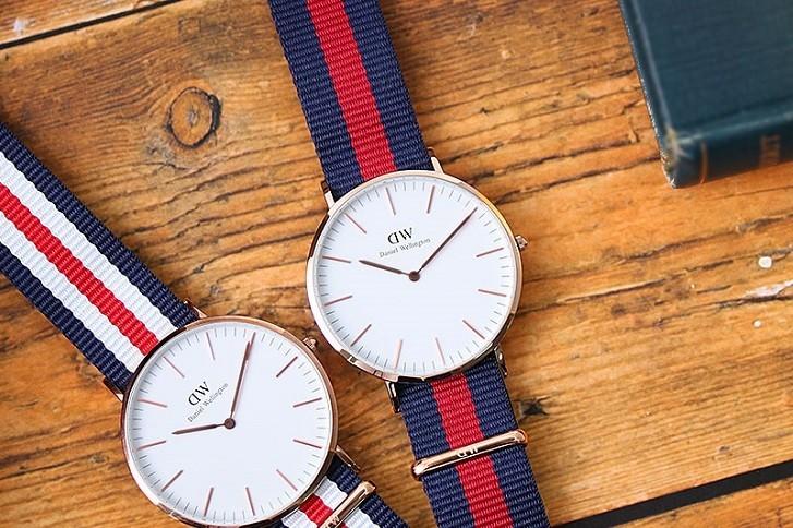 Đồng hồ Daniel Wellington DW00100001 dây vải trẻ trung - Ảnh 2