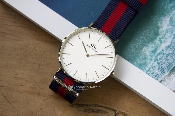 Đồng hồ nam Daniel Wellington DW00100015 thay pin miễn phí - Ảnh 1