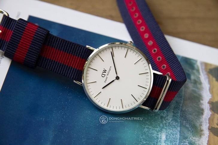 Đồng hồ nam Daniel Wellington DW00100015 thay pin miễn phí - Ảnh 2