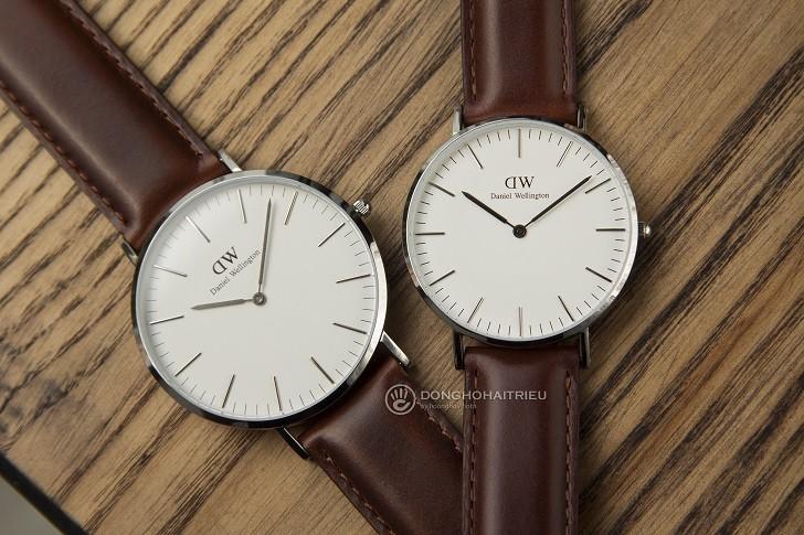 Đồng hồ Daniel Wellington DW00100021 giá rẻ, thay pin miễn phí - Ảnh 1