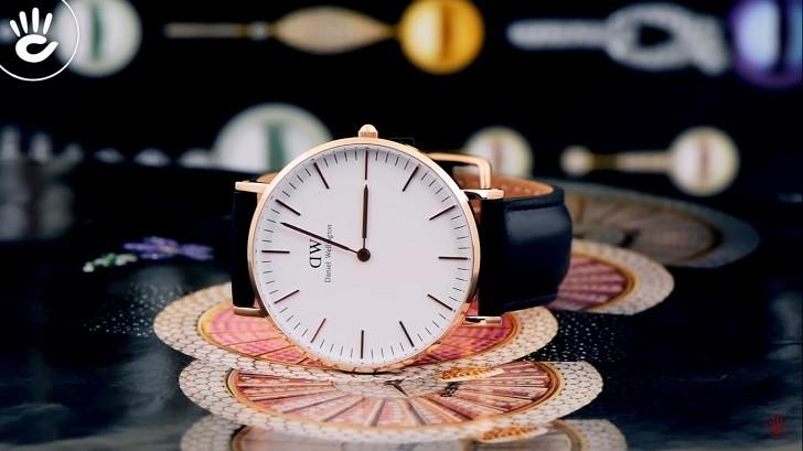 Đồng hồ nữ Daniel Wellington DW00100036 thay pin miễn phí - Ảnh 1