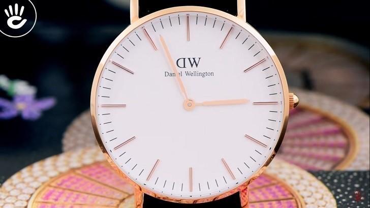 Đồng hồ nữ Daniel Wellington DW00100036 thay pin miễn phí - Ảnh 3
