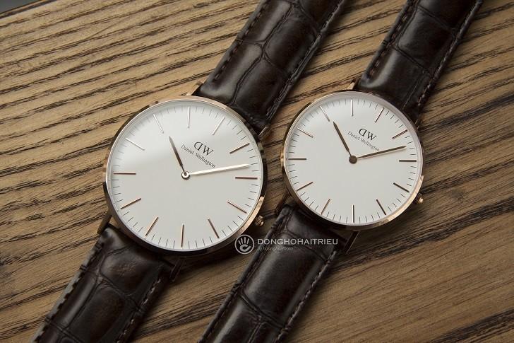 Đồng hồ Daniel Wellington DW00100038 thay pin miễn phí - Ảnh 1