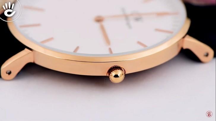 Đồng hồ Daniel Wellington DW00100038 thay pin miễn phí - Ảnh 2