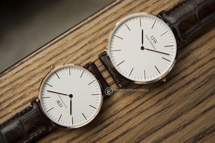 Đồng hồ Daniel Wellington DW00100038 thay pin miễn phí - Ảnh 3