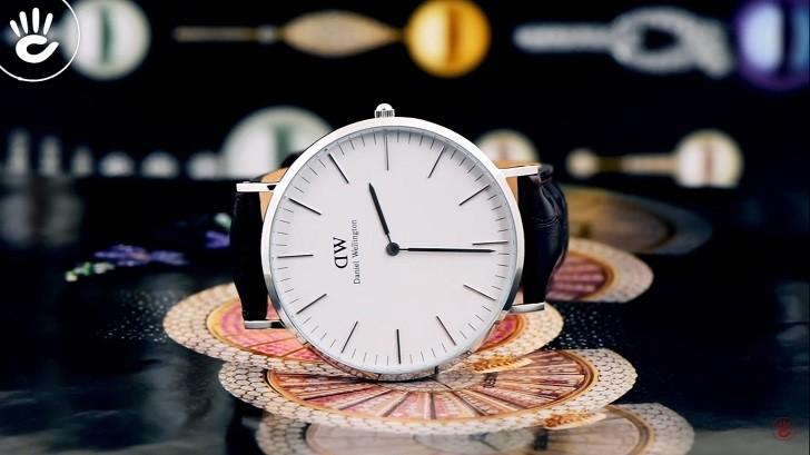 Đồng hồ nữ Daniel Wellington DW00100055 thay pin miễn phí - Ảnh 1