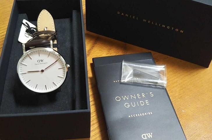 Đồng hồ nữ Daniel Wellington DW00100055 thay pin miễn phí - Ảnh 2