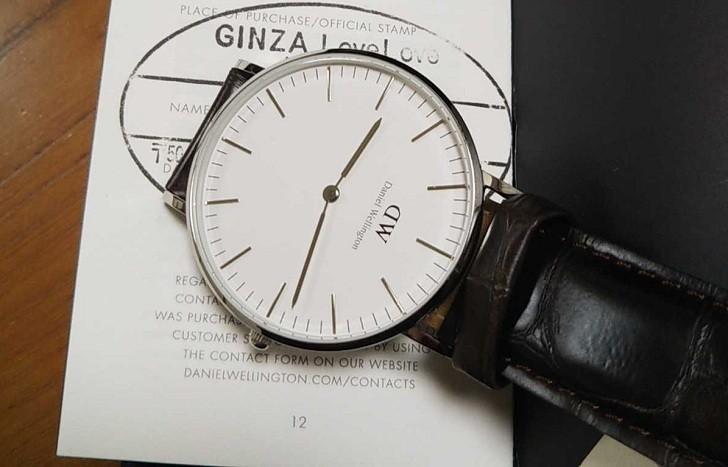 Đồng hồ nữ Daniel Wellington DW00100055 thay pin miễn phí - Ảnh 4