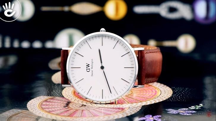 Đồng hồ nữ Daniel Wellington DW00100056 thay pin miễn phí - Ảnh 1