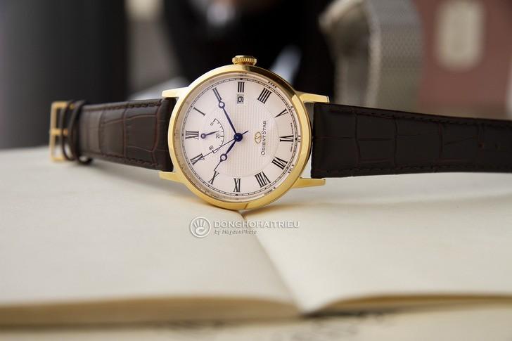 Đồng hồ Orient SEL09002W0: Máy cơ Nhật Bản, thiết kế lịch lãm - Ảnh 3
