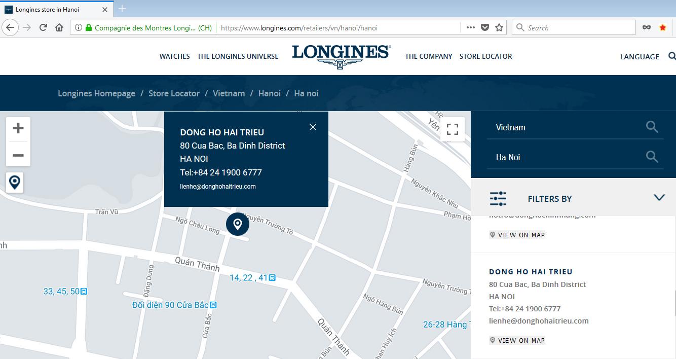 """""""Mẹo"""" Phân Biệt Đồng Hồ Longines Thật Giả Bạn Nên Biết Xem Thông tin về Đồng Hồ Hải Triều đại lý chính thức của Longines"""