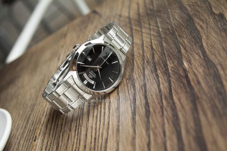 Đồng hồ Orient FEV0V001BH automatic, trữ cót đến 40 giờ - Ảnh 1