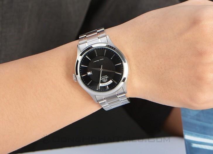 Đồng hồ Orient FEV0V001BH automatic, trữ cót đến 40 giờ - Ảnh 6