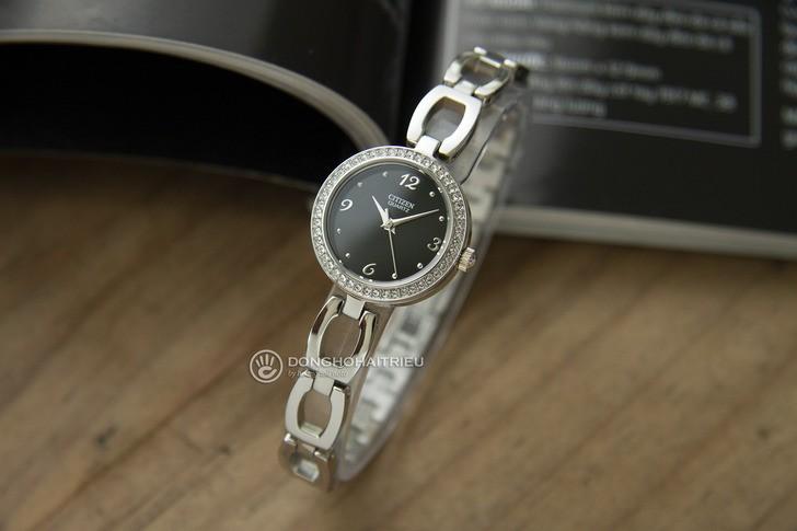 Đồng hồ nữ Citizen EJ6070-51E thiết kế đính đá sang trọng - Ảnh 5