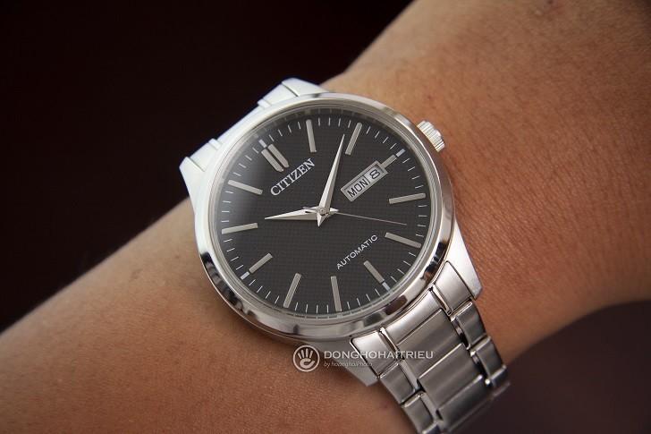 Đồng hồ Citizen NH7520-56E automatic, trữ cót hơn 40 giờ - Ảnh 5