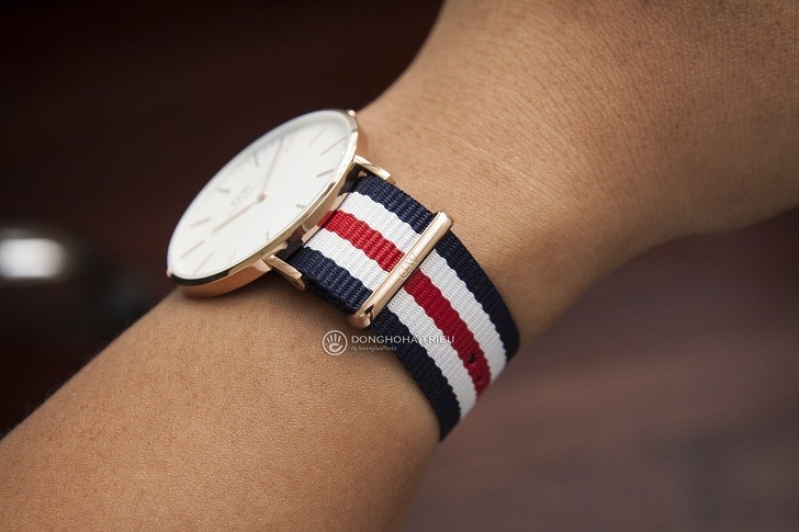 Đồng hồ nữ Daniel Wellington DW00100002 thay pin miễn phí - Ảnh 4