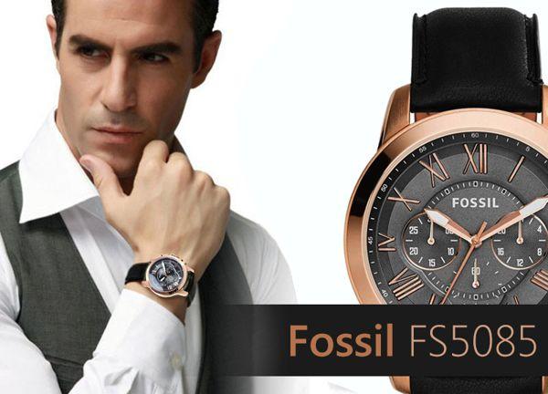 Đồng Hồ Fossil FS5085 Siêu Sang Cho Thể Thao Thêm Chất