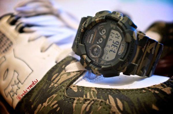"""Đồng Hồ G-Shock GD-120CM-5DR Và Ngụy Trang """"Rừng"""""""