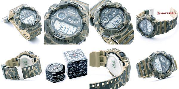 """Đồng Hồ G-Shock GD-120CM-5DR Và Ngụy Trang """"Rừng"""" góc độ"""