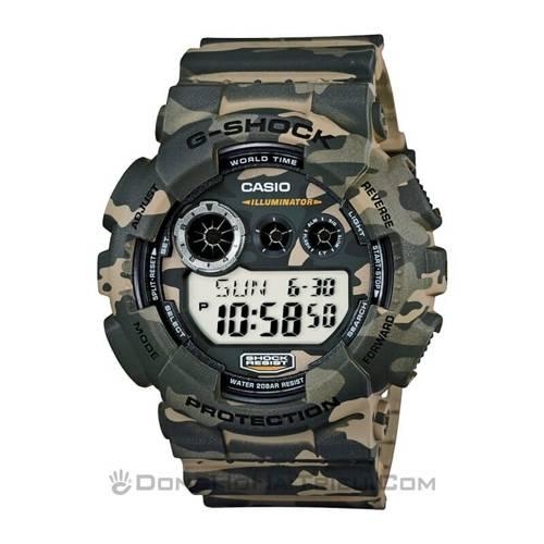 """Đồng Hồ G-Shock GD-120CM-5DR Và Ngụy Trang """"Rừng"""" sp1 GD-120CM-5DR"""