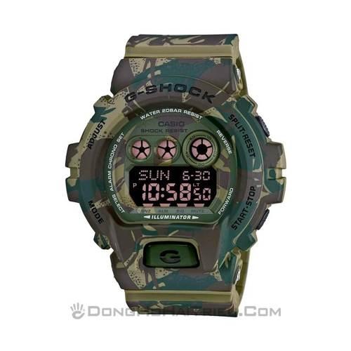"""Đồng Hồ G-Shock GD-120CM-5DR Và Ngụy Trang """"Rừng"""" sp3 GD-X6900MC-3DR"""