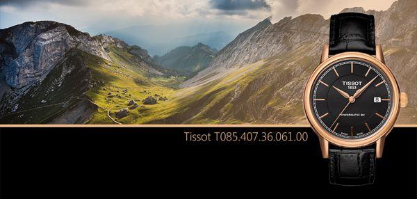 Một Ngày Đẹp Với Đồng Hồ Tissot T085.407.36.061.00