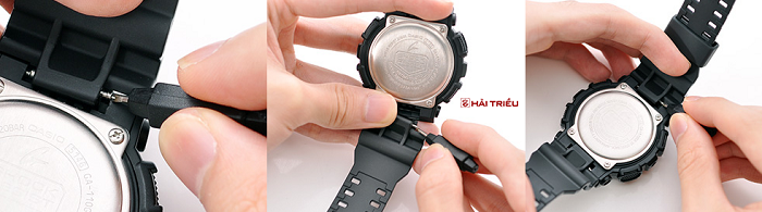 thao go day deo dong ho g-shock
