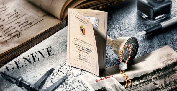 360 Độ Đồng Hồ Xuất Xứ Thụy Sĩ: Swiss Made, Geneva Seal Kết