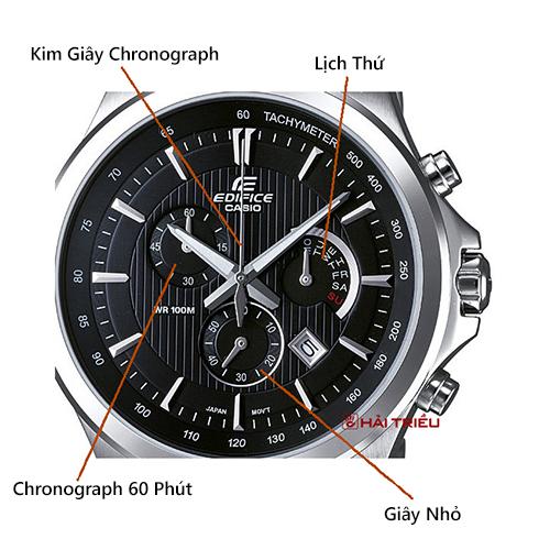 Cách Nhận Dạng Chronograph Khi Mua Đồng Hồ VD3