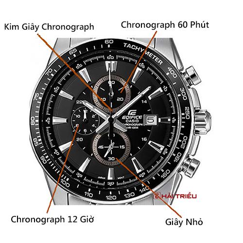Cách Nhận Dạng Chronograph Khi Mua Đồng Hồ VD4