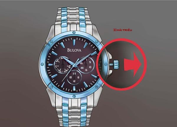 chinh gio dong ho bulova chronograph 1