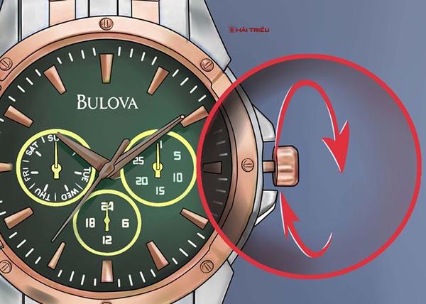 chinh gio dong ho bulova chronograph 5