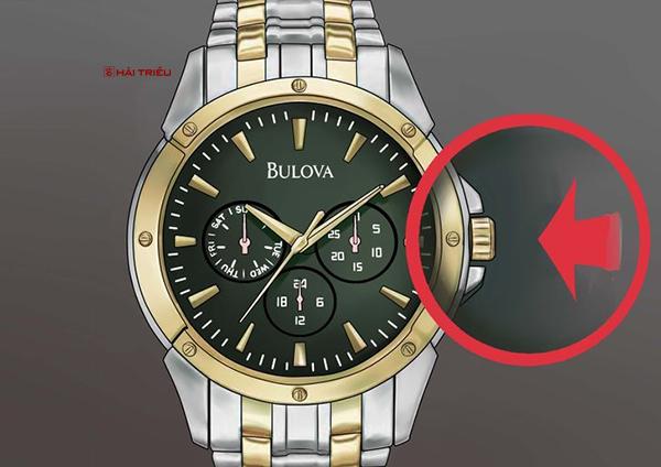 chinh gio dong ho bulova chronograph 6