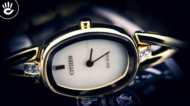 Đồng hồ Eco-Drive Citizen EX1412-82P năng lượng ánh sáng - Ảnh 2