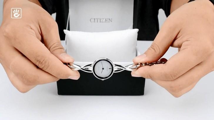 Đồng hồ nữ Citizen EX1420-84A bộ máy năng lượng ánh sáng - Ảnh 1