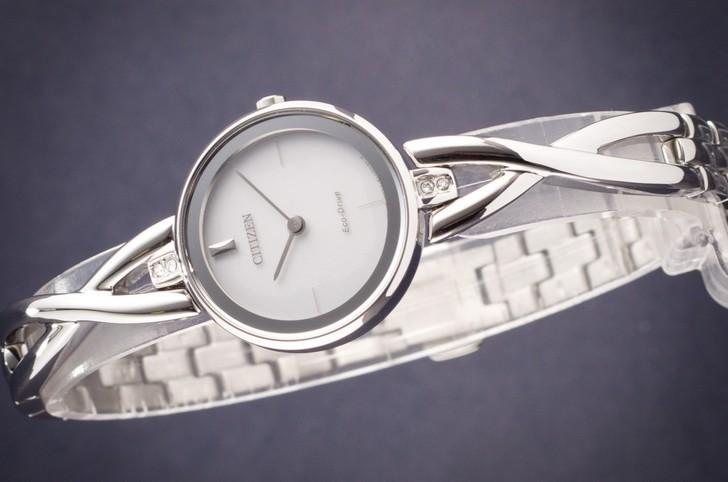 Đồng hồ nữ Citizen EX1420-84A bộ máy năng lượng ánh sáng - Ảnh 2
