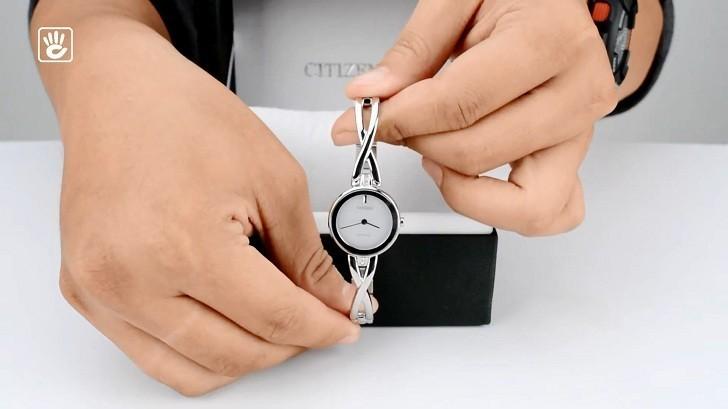 Đồng hồ nữ Citizen EX1420-84A bộ máy năng lượng ánh sáng - Ảnh 4