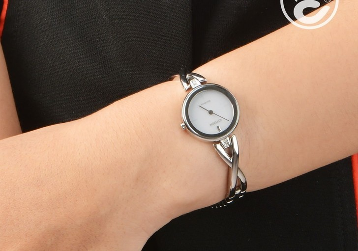 Đồng hồ nữ Citizen EX1420-84A bộ máy năng lượng ánh sáng - Ảnh 5