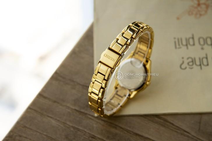 đồng hồ Citizen FE1122-88P: Những viên đá pha lê lấp lánh - Ảnh 4