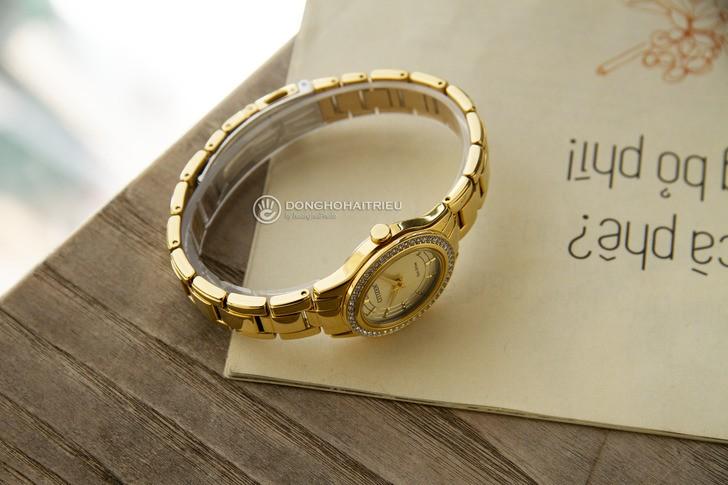 đồng hồ Citizen FE1122-88P: Những viên đá pha lê lấp lánh - Ảnh 5