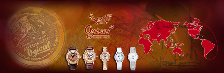 Đồng Hồ Ogival Nam Nữ | Since 1903 | Swiss Made Thụy Sỹ