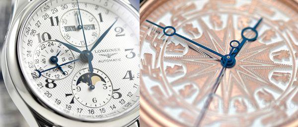 Họ đã làm kim thép xanh của đồng hồ như thế nào