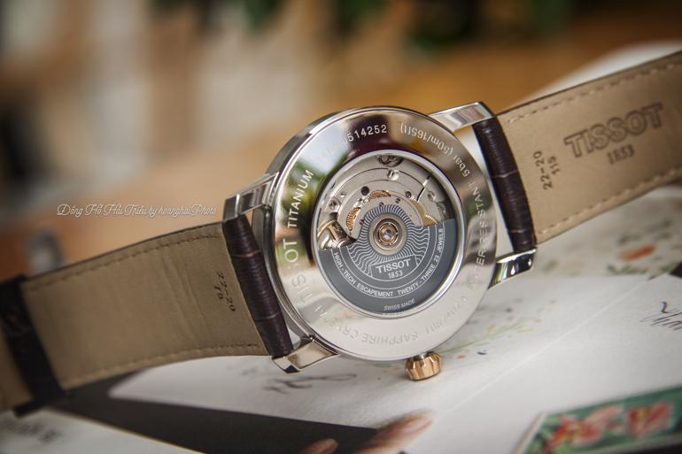 Đồng hồ automatic là gì? 3 lưu ý nên biết khi mua - Ảnh: Tissot T87.407.56.037.00