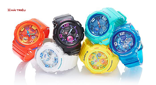 dong ho casio baby-g