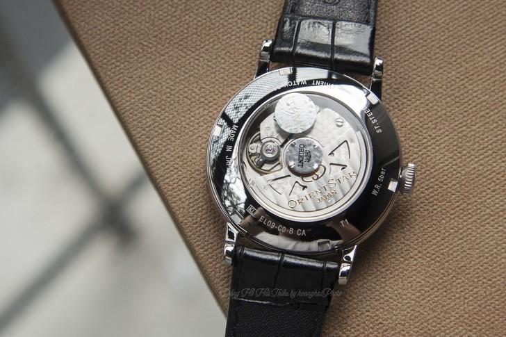 Đồng hồ Orient SEL09004W0 kim xanh, máy cơ tự động cao cấp - Ảnh 5