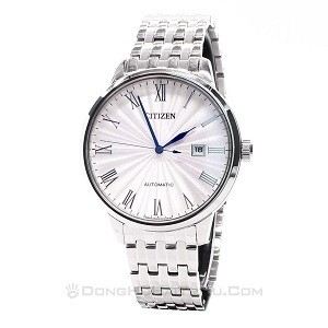 Cách chỉnh đồng hồ cơ chạy nhanh và chậm nhiều lần trong ngày - Ảnh: Citizen NJ0080-50A
